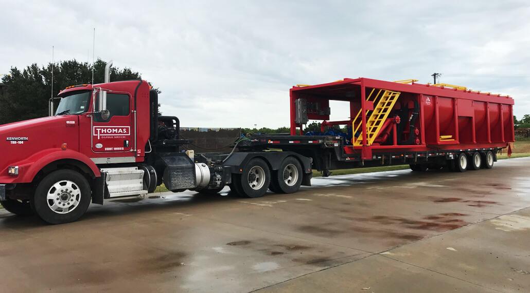 Thomas Trucking End Dump Trucking