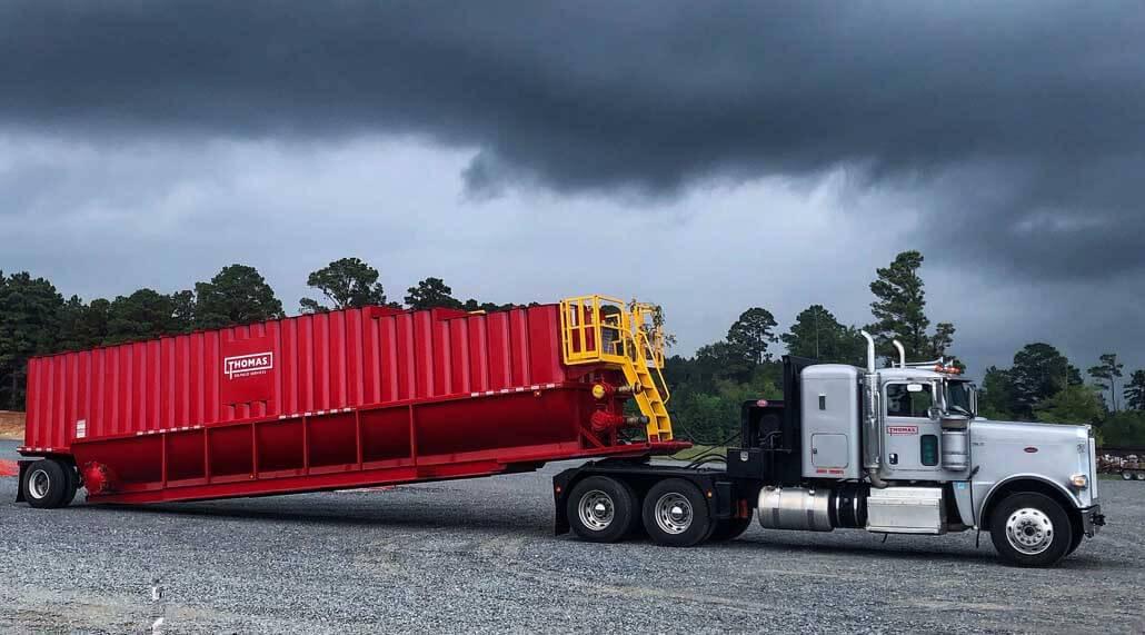Thomas Trucking Rolling Tailboard