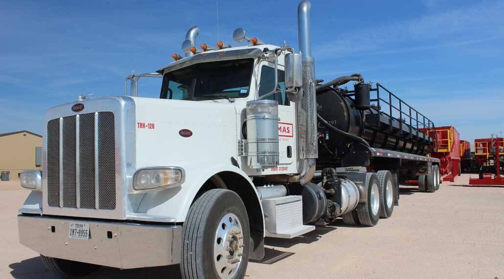 Thomas Trucking Vacuum Trucking